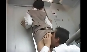Yard service blowjob on Train -05