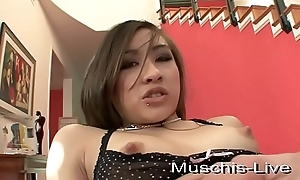 Thai model fucked to hand amateur dog