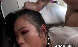 SUBMISSIVE ASIAN STUDENT FUCKS TEACHER Be fitting of GRADES