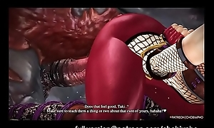 SOUL CALIBUR / TAKI GANGFUCKED BY Zooid COCKS [SFM]