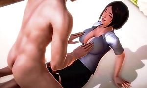 Horny Virgin Japanese Teacher Gets Screwed For The First Duration
