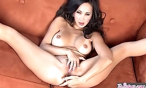 Asian milf (Katsuni) fingers her ass plus pussy unequalled - Twistys