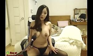 Huge gut Korean in blacklist stockings