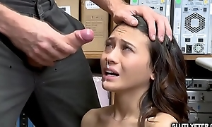 Jasmine Grey experiencing the fuck of her life righteousness of the LP Officer!