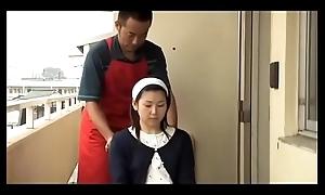 Japanese shameless husband plugging wife (Full: shortina.com/9E9v)