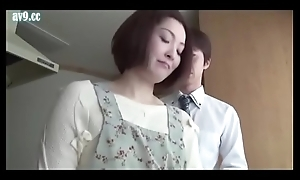 Japanese wife gets drilled by husband friend (Full: bit.ly/2zk0Q2d)