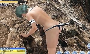 Dead or Alive-xtreme-venus-vacation rock climbing Tamaki Aficionado