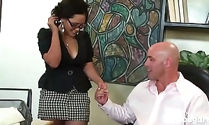 Big Oriental MILF Jessica Bangkok Copulates With A Finger In Her Asshole