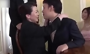 Ryoko Murakami - connubial day! Mr Big mother in law fucked by young gentleman in law