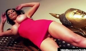 Impenetrable Babe Nikki Benz Horseshit Fucks Asian London Keyes!