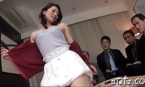 Gleam gives grungy creampie there sexy oriental babe nearly spectacular love melons