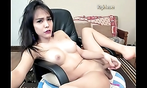 Sexy Babe Stroking On Livecam
