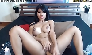 Super hot Asian big tits babe on cam - cambrazzers.com