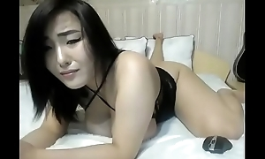 Oriental slut teasing conscientious body superior to before cam