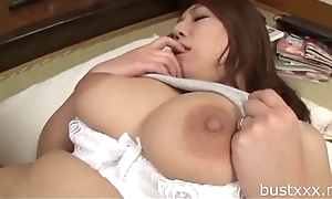 Broad in the beam Japanese Mummy - Visit bustxxx.net for more boobs video