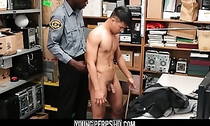 Guileless Asian Twink Caught Exploitation Fucked By Inky Gay Functionary