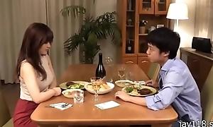 boy and hot girl shot at dinner.....