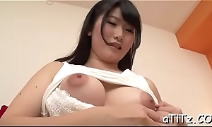 Massive pantoons asian thrills two demanding rods forth blowjob