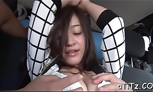 Lovely japanese with beautiful bosom delights with oral sex