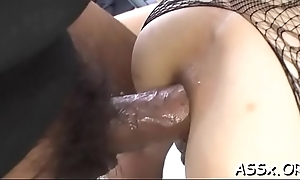 Cute asian hottie adventures curious anal making out