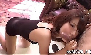 Milf mom moans while getting nipp licked and cock to engulf