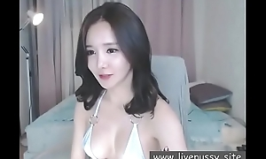 Beautiful Korean girl enjoying yourself with sex toy and live performance show@www.livepussy.site