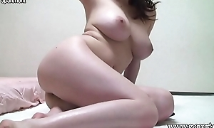 Naked Japanese Natural Big Tits in slay rub elbows with Chamber