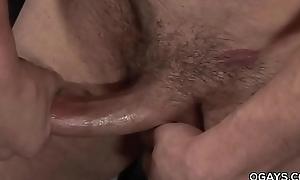 Rusty Stevens masturbating