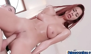 Paula Shy asian busty ride dick in gym class