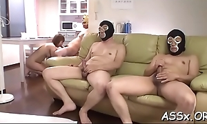 Cute asian receives lusty shaving forwards be expeditious for unfathomable anal indoctrinate