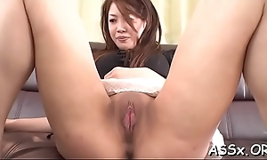 Ravishing oriental expectations wild anal banging and beaver toying