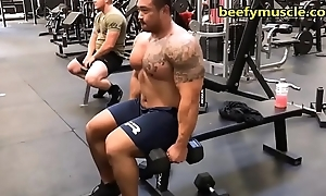 beefymuscle.com - Massive powerlifter [tags: in person bear gay bodybuilder beefy Cyclopean smokescreen young man daddy offseason hairy fuck sex stumbling-block anal ass gumshoe cock cum]