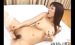 Adorable juvenile japan cutie acquires coarse cock in anal mode