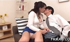 Explosive japanese cum-hole toying