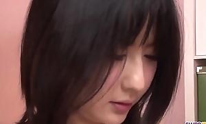 Megumi Haruka wants cum not susceptible face and tits after blowjob  - More at Slurpjp.com