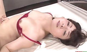Mizuki Ogawa throats before letting dicks in will not hear of  - More at Japanesemamas.com
