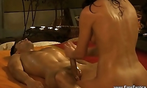 Intimate Prostate Exam From India