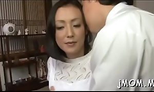 Older angel gets pussy licked
