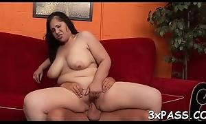 Chubby beautiful woman fucking