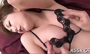 Anal toying with dreadful doggy position