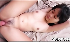 Sucking a dick makes her elated