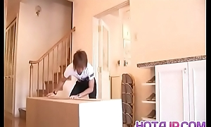 Iori Mizuki sucks dick and swallows a charge out of prefer a pro - More to hand hotajp.com