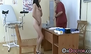 Pervert Doctor Exams Asian Teen Snatch