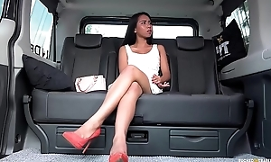 FUCKED IN TRAFFIC - Squirting Indonesian babe goes jilted in hardcore car fuck