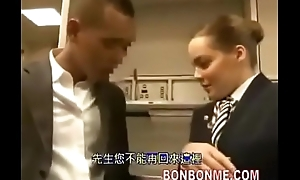 stewardess, blowjob